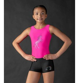 MOTIONWEAR 1701 SPARKLES & SPANGLES GYM UNICORN TANK LEOTARD