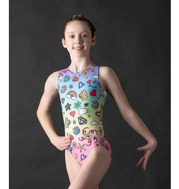 MOTIONWEAR 1912 SUBLIMATION RAINBOW WISH TANK LEOTARD