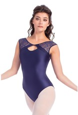 SO DANCA RDE1872 LACE SHOULDER LEOTARD