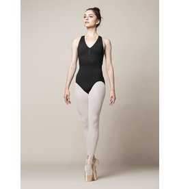 BLOCH & MIRELLA M3069LM ZIPPER FRONT CROSS BACK TANK