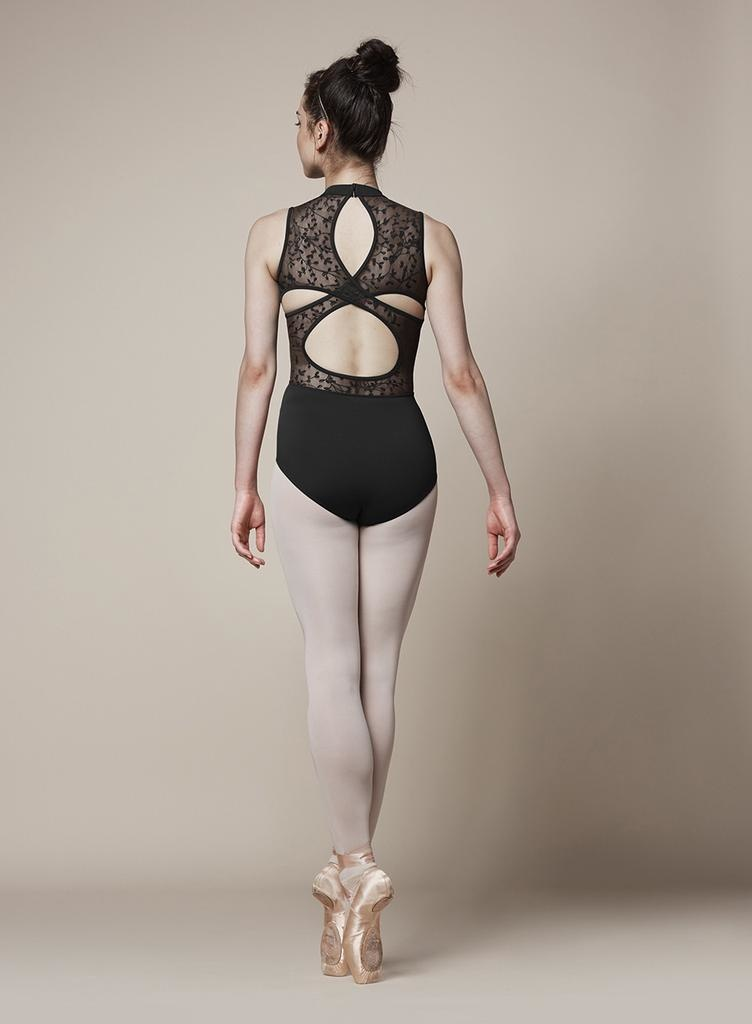BLOCH & MIRELLA M3070LM LACE CROSS OVER BACK TANK