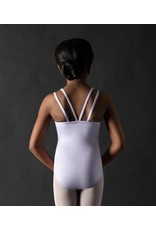 MOTIONWEAR 2948 GRAE BELTED BOW DOUBLE STRAP CAMI LEOTARD