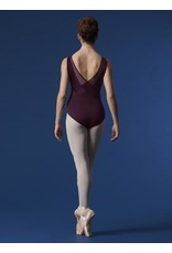 BLOCH & MIRELLA M3075LM VELVET AND MESH LOW BACK TANK