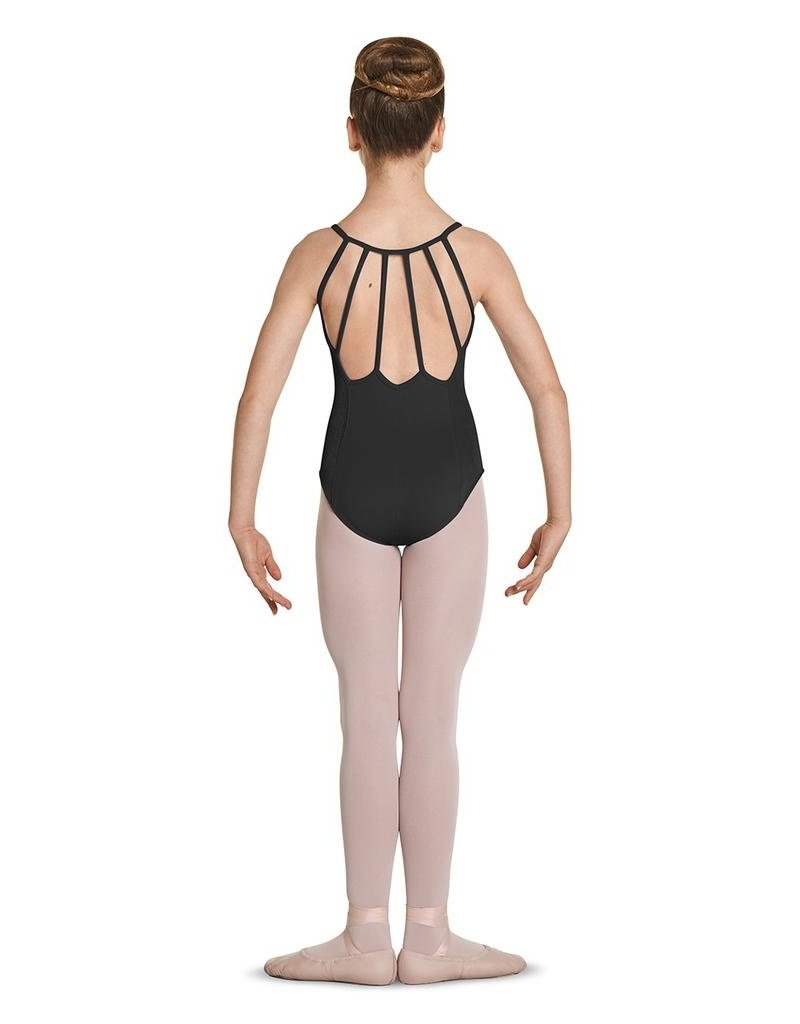 BLOCH & MIRELLA M1226C VELVET PANEL STRAPPY BACK CAMISOLE