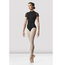 BLOCH & MIRELLA L8732 GWENN HIGH-NECK CAP-SLEEVE