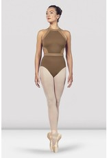 BLOCH & MIRELLA L4975  SIDE CUT-OUT CONTRAST HALTER