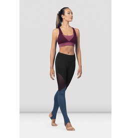 BLOCH & MIRELLA FP5196 TRIANGLE PANEL ANKLE LEGGING
