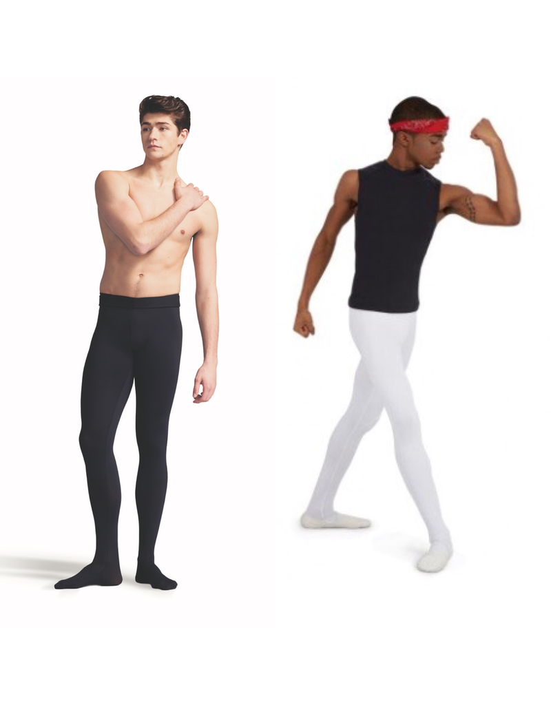 CAPEZIO & BUNHEADS A10361M MENS FOOTED TACTEL TIGHT
