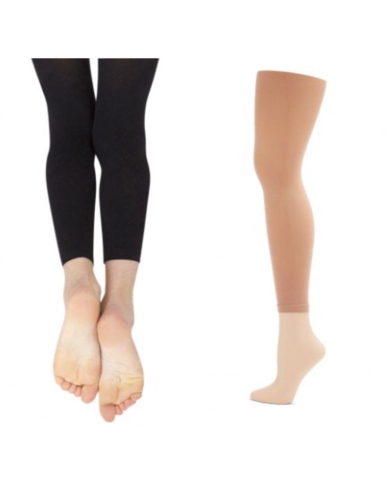 CAPEZIO & BUNHEADS A1870 ADULT ULTRASOFT FOOTLESS TIGHT