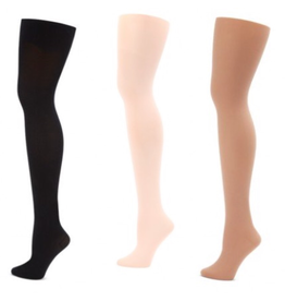 CAPEZIO & BUNHEADS A1862 PLUS SIZE HOLD & STRETCH FOOTED TIGHT