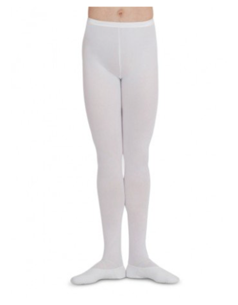 CAPEZIO & BUNHEADS AMT11 MENS SEAMED FOOTED TIGHT