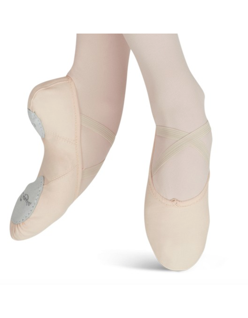 CAPEZIO & BUNHEADS A2028 JULIET CANVAS BALLET SLIPPER