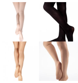 CAPEZIO & BUNHEADS A14C CHILDRENS HOLD & STRETCH FOOTED TIGHT