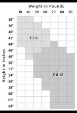 CAPEZIO & BUNHEADS A9C CHILDRENS PROFESSIONAL MESH SEAMED TIGHT