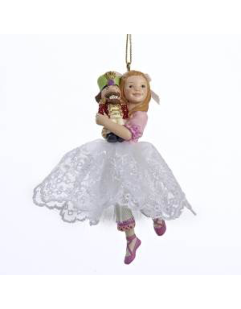 KURT S. ADLER C8419 CLARA GIRL ORNAMENT