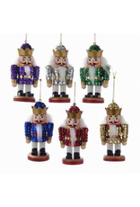 KURT S. ADLER C2656 SEQUIN NUTCRACKER ORNAMENT