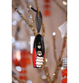 CAPEZIO & BUNHEADS A1040U NUTCRACKER POINTE SHOE RESIN ORNAMENT WITH SWAROVSKI CRYSTAL