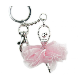 AMERICAN DANCE SUPPLY ADS108 TUTU BALLERINA KEYCHAIN