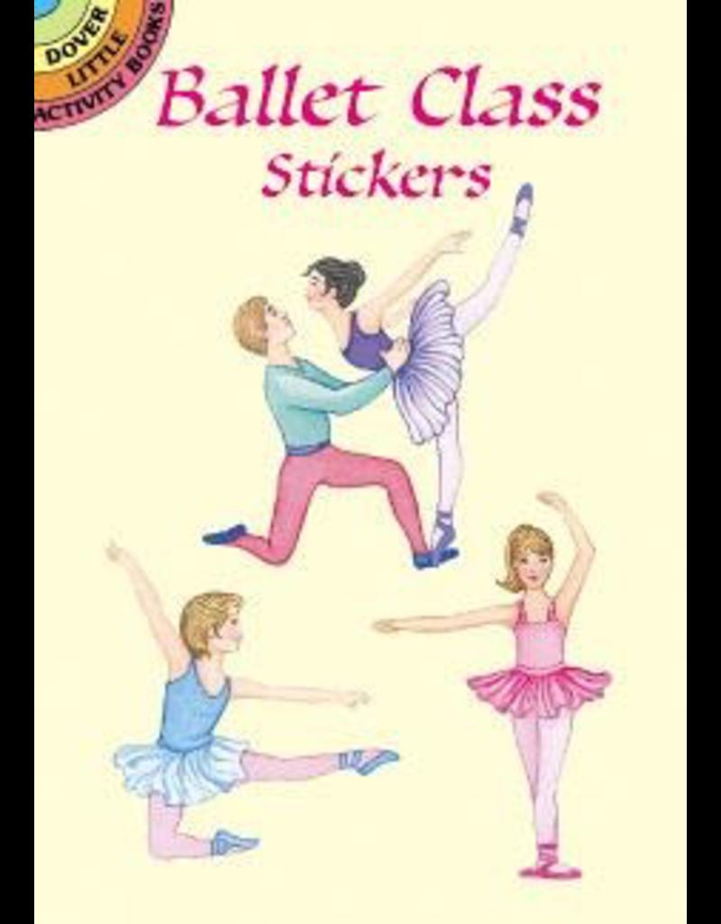 DOVER PUBLICATIONS 416208 BALLET CLASS STICKER BOOK
