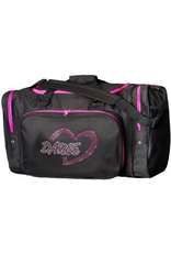SASSI DESIGNS  LLC DHRT-02 DANCE HEART BAG