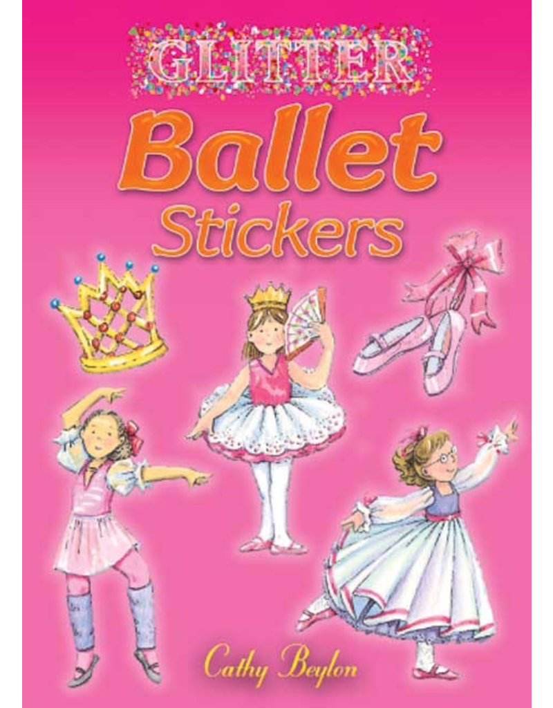 DOVER PUBLICATIONS 462056 BALLET STICKERS BOOK