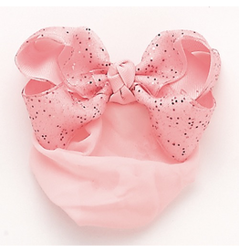 DASHA DESIGNS 4059 SPARKLY BOW SNOOD