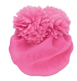 DASHA DESIGNS 4067 POM FLOWER SNOOD