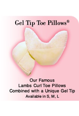 PILLOWS FOR POINTES GTTP-L GEL TIP TOE PILLOW