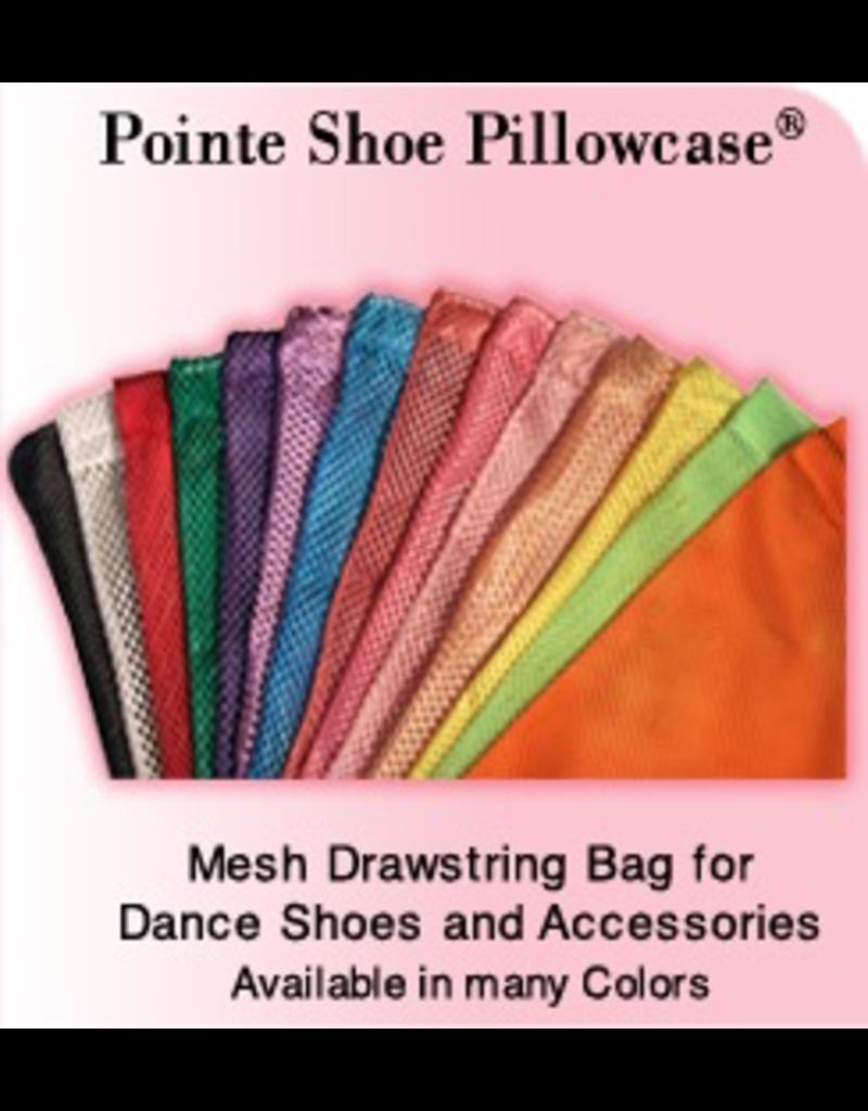PILLOWS FOR POINTES SPSP SATIN TRIMMED MESH SHOE BAG