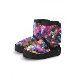 BLOCH & MIRELLA IM009 PRINT WARM UP BOOTIES