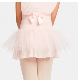 CAPEZIO & BUNHEADS A11139C PLEATED PERFECTION PULL ON SKIRT
