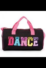 DASHA DESIGNS 4997 ABC DANCE DUFFEL BAG