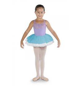 BLOCH & MIRELLA CR4811 DIAMANTE CONTRAST BAND TUTU SKIRT