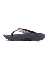 OOFOS OOLALA 1400 OOFOAM 2TONE GLOSS RECOVERY FLIP FLOP