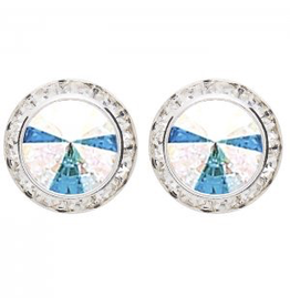 DASHA DESIGNS 2710C-AB CLIP ON EARRINGS