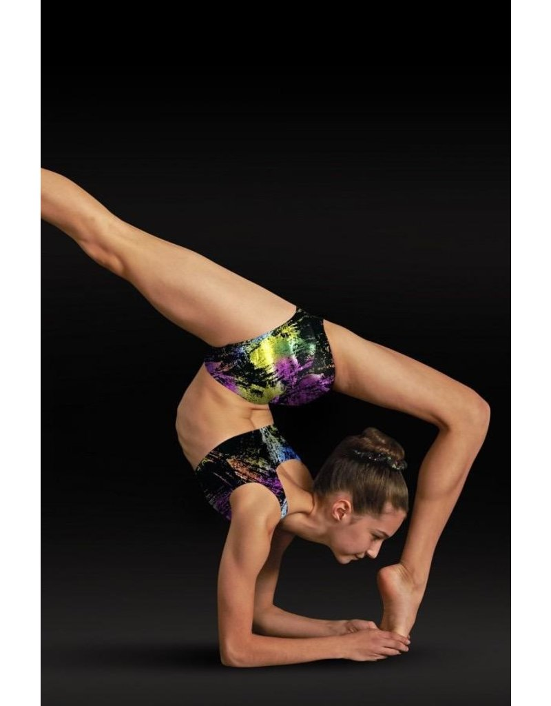 LEO'S DANCEWEAR GB124 FOIL BRA TOP