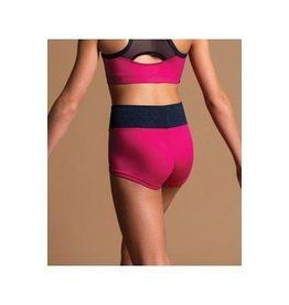MOTIONWEAR 7094 CHILD WIDE WAISTBAND SHORTS