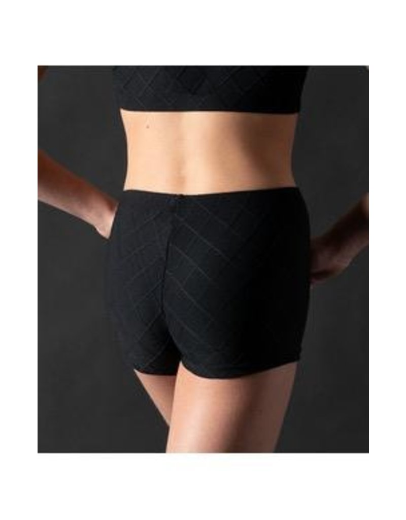 MOTIONWEAR 7917 QUILTED LOW RISE SHORT