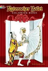 DOVER PUBLICATIONS NUTCRACKER BALLET COLORING BOOK