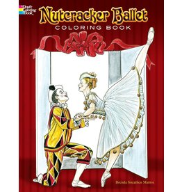 DOVER PUBLICATIONS NUTCRACKER BALLET COLORING BOOK
