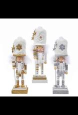 KURT S. ADLER HA0416 HOLLYWOOD WINTERY SOLDIERS FUR HAT SNOWFLAKE NUTCRACKER