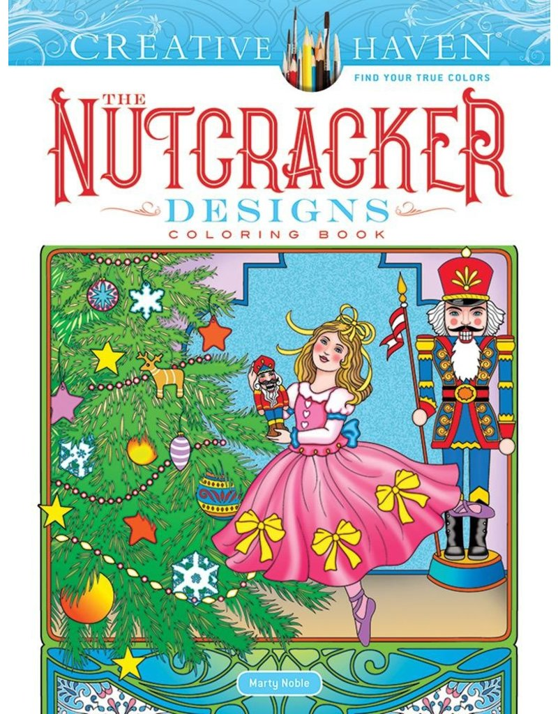 DOVER PUBLICATIONS NUTCRACKER DESIGNS COLORING BOOK