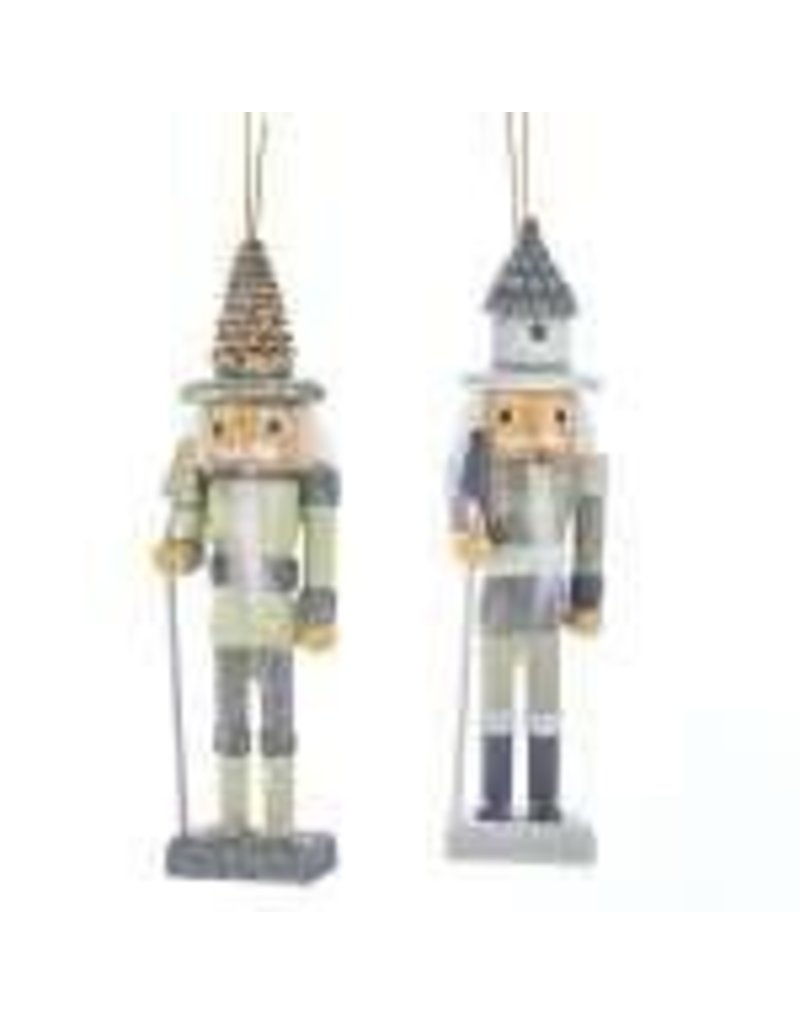 KURT S. ADLER HA0505 FOREST WINTER NUTCRACKER ORNAMENT