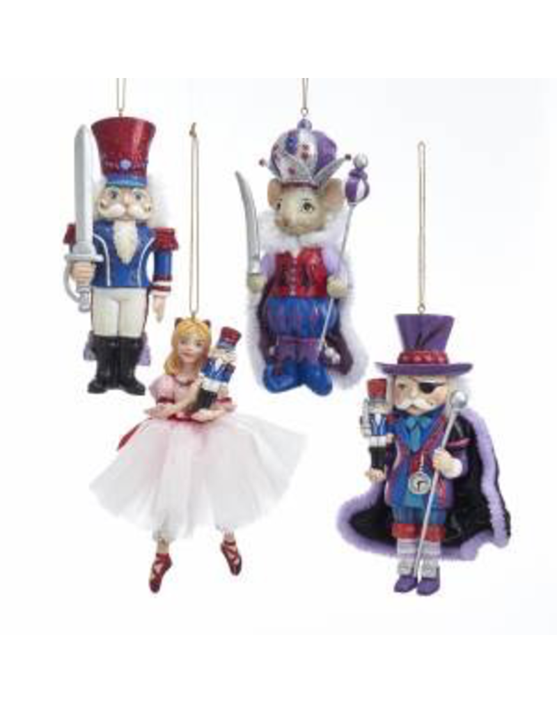 KURT S. ADLER FANCY ROYAL NUTCRACKER SUITE ORNAMENT