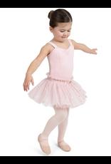 CAPEZIO & BUNHEADS A11529C GLITTER ROSE SWEETHEART TANK DRESS