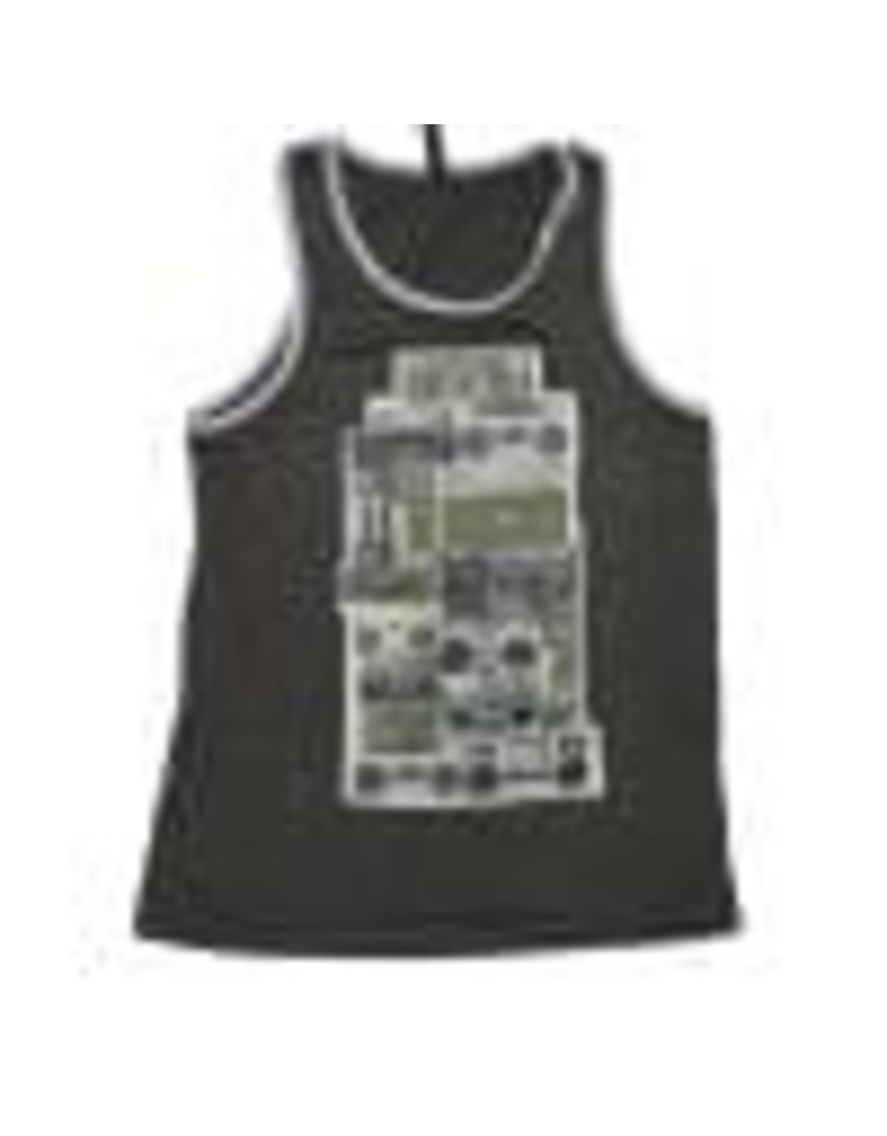 SUGAR & BRUNO D9845 BOOMBOXES REBEL ADULT TANK