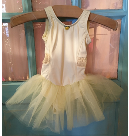 BASIC MOVES BM9451HL SMOCKED WAIST TUTU DRESS