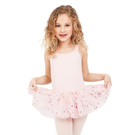CAPEZIO & BUNHEADS A11621C SHOOTING STAR CHILD TANK LEOTARD DRESS