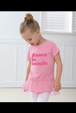 COVET DANCE DIM-22TNC-4T DANCE IS MAGIC TODDLER TUTU TUNIC