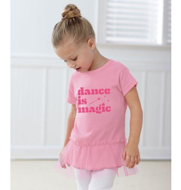 COVET DANCE DIM-22TNC-4T DANCE IS MAGIC TODDLER TUTU TUNIC